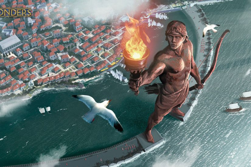 Colossus of Rhodes 1920 x 1080