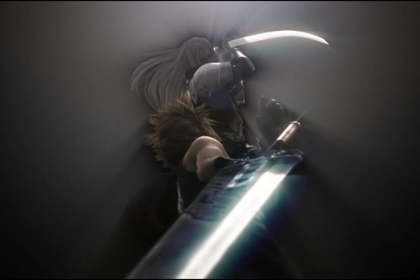 "With all the hype surrounding the remake, here's a Final Fantasy VII  Wallpaper Dump (Taken from the ""Advent Children: Complete"" Blu-Ray)"