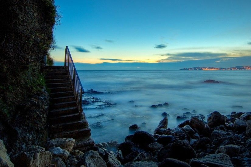 beach stairs-Nature Wallpapers - 1920x1080 wallpaper .