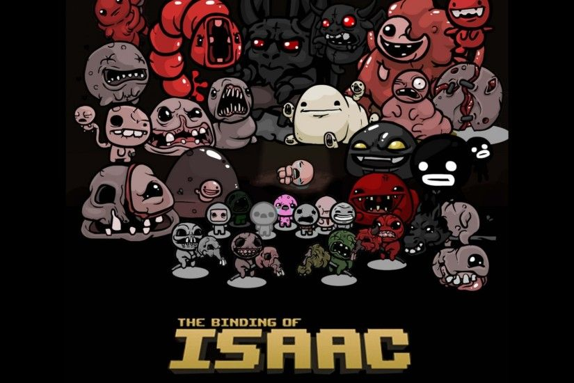 Preview wallpaper the binding of isaac, indie, game, art 2560x1440