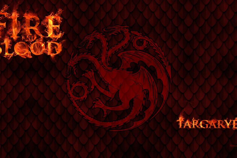 ... Game Of Thrones - House Targaryen by BeAware8