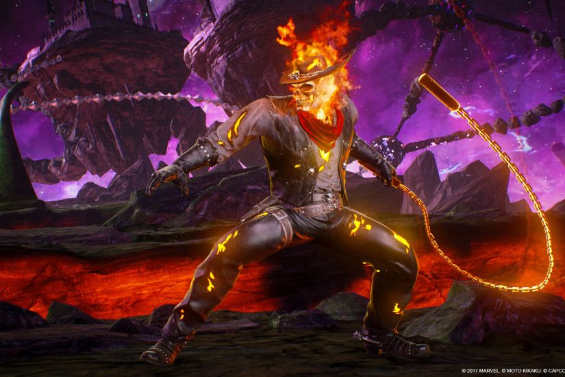 Marvel vs. Capcom: Infinite - Ghost Rider Outlaw Costume Screenshot