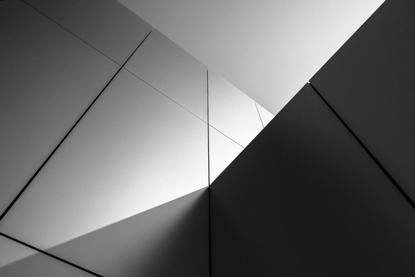 buildings wall abstract black white wallpaper background