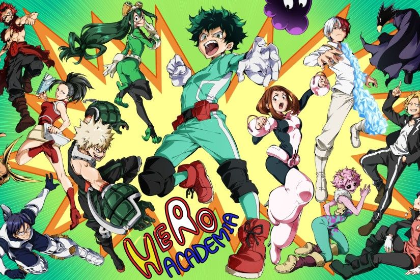 boku no hero academia - Full HD Wallpaper, Photo 2700x1672