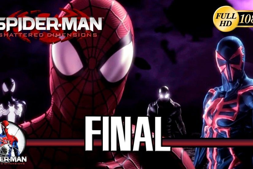 Spiderman Shattered Dimensions Final Boss Mysterio Ending Gameplay Final  Español PC - YouTube