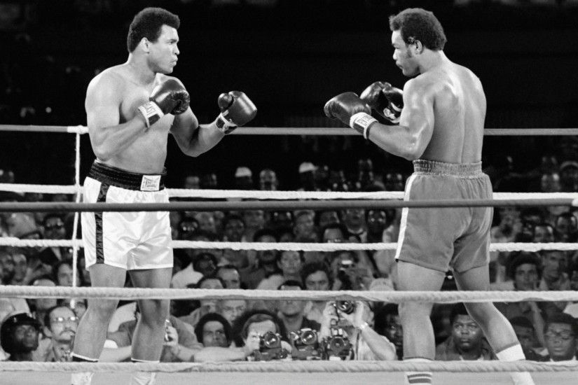 George Foreman on Muhammad Ali: 'I keep seeing his face like nothing has  happened . ...