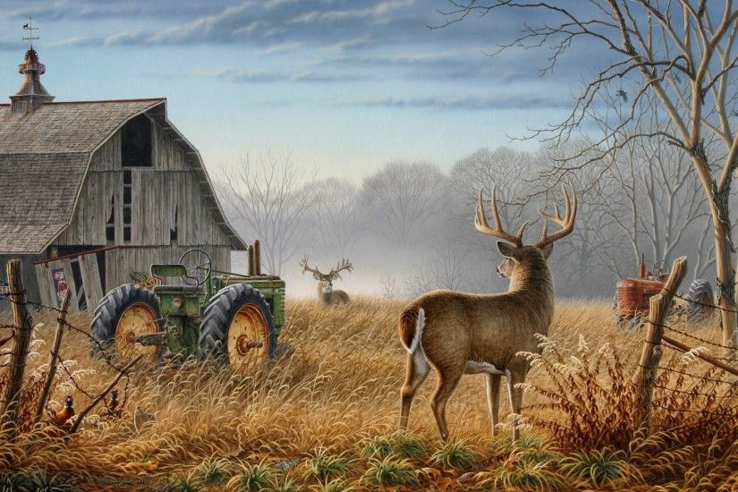 3d Deer Wallpaper: Deer Hunting Wallpaper for Computer Large Hd Database  1920x1200px