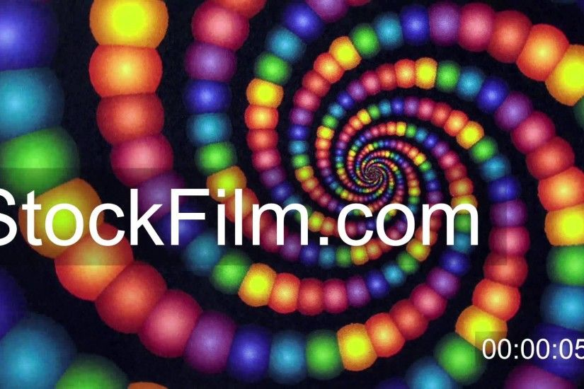 Candyland Rainbow Color Vortex Animation Background