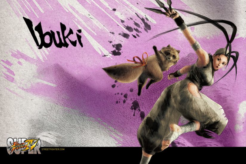 Super Street Fighter 4 Ibuki Wallpaper