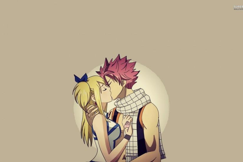 Lucy And Natsu - Fairy Tail Wallpaper Wallpaper