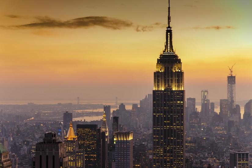 New york city sunset Wallpapers Pictures Photos Images · «