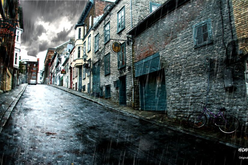 background backgrounds wallpapers rainy ghetto desktop urbex street computer android wallpapertag screen iphone middle windows