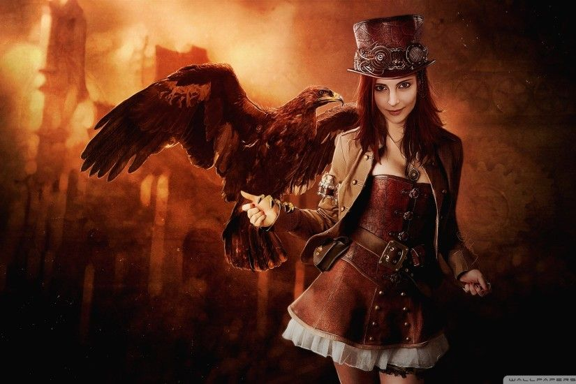 ... Heavenly Standard ... Steampunk Girl Wallpapers ...