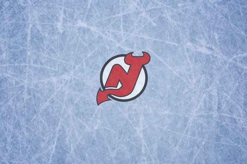 New Jersey Devils wallpaper with logo on the ice, widescreen, 1920x1200,  16x10