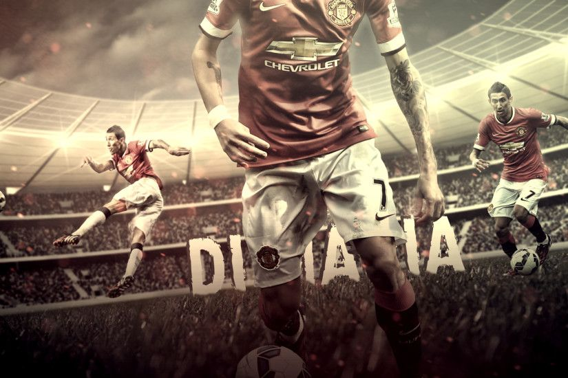 ... Angel Di Maria //Manchester United// Wallpaper by FLETCHER39