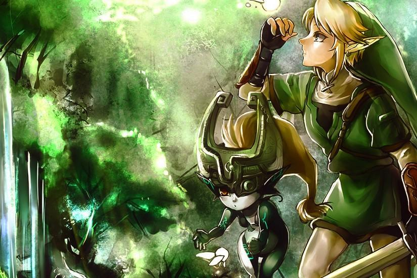 Link + Midna Wallpaper by Enigmarez on DeviantArt