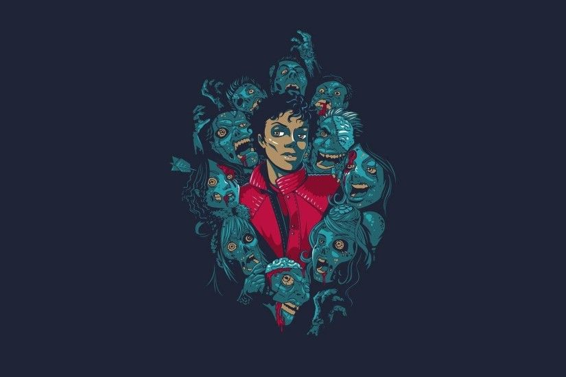 Michael Jackson Thriller Zombie Hd 1080P 12 HD Wallpapers
