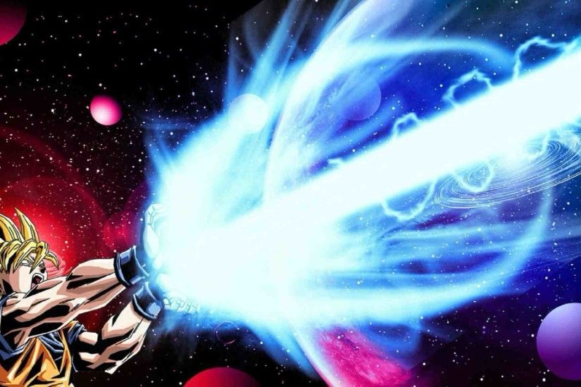 Images For > Goku Kamehameha Wallpaper | Dragonball | Pinterest | Goku ...
