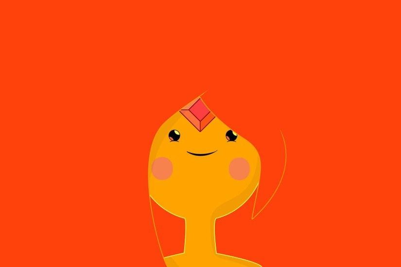 Adventure Time With Finn And Jake Flame Princess Minimalistic