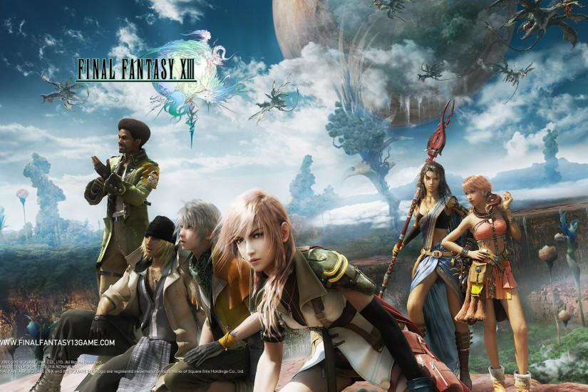 Final Fantasy 13 Wallpaper, Full HD 1080p Wallpaper, HD, Widescreen .