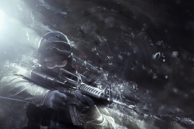 Get the latest counter-strike, gun, soldier news, pictures and videos and  learn all about counter-strike, gun, soldier from wallpapers4u.org, your  wallpaper ...