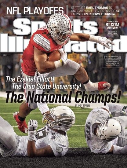 """The Ezekiel Elliott! The Ohio State University! The National Champs!"" ("