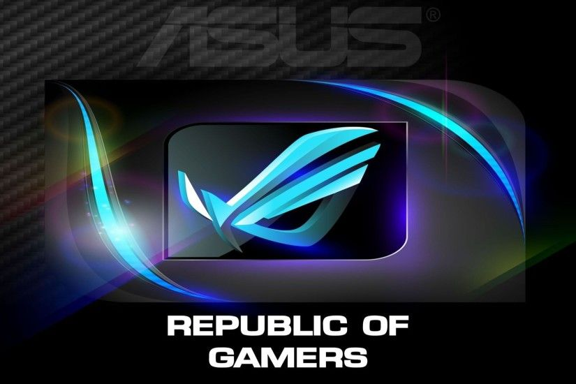 ROG Wallpaper Collection 2013 ::: ASUS ROG blue design - by