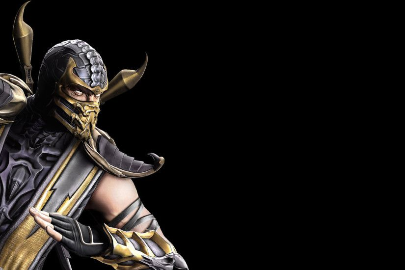 1920x1200 Scorpion Wallpaper Mortal Kombat 9, wallpaper, Scorpion Wallpaper  .