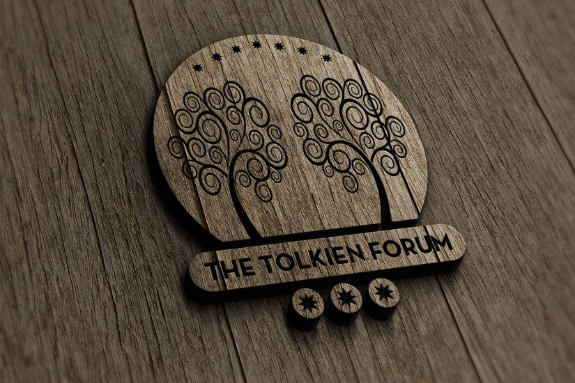 The Tolkien Forum Logo v3.0 - Old Wood by dapence