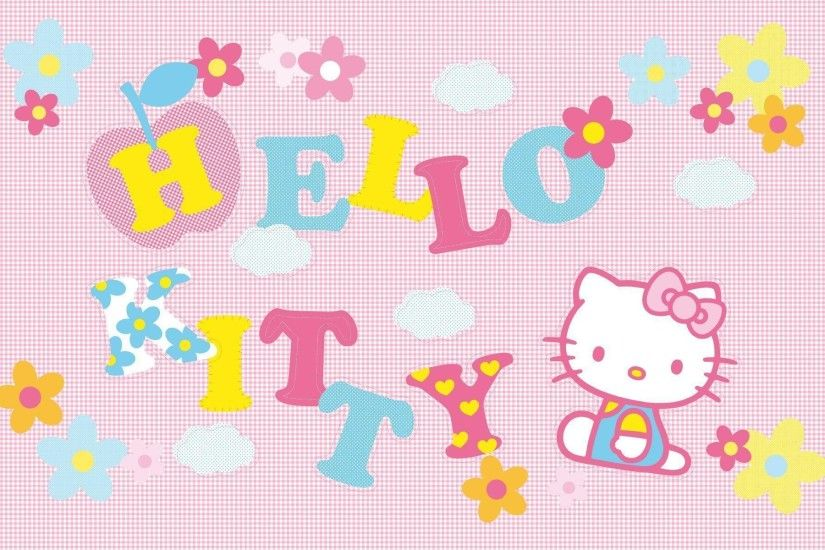 Pink Hello Kitty Character Wallpaper | Hello Kitty Wallpapers
