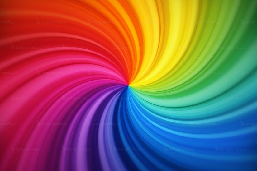 Spiral rainbow background | Backgroundsy.com