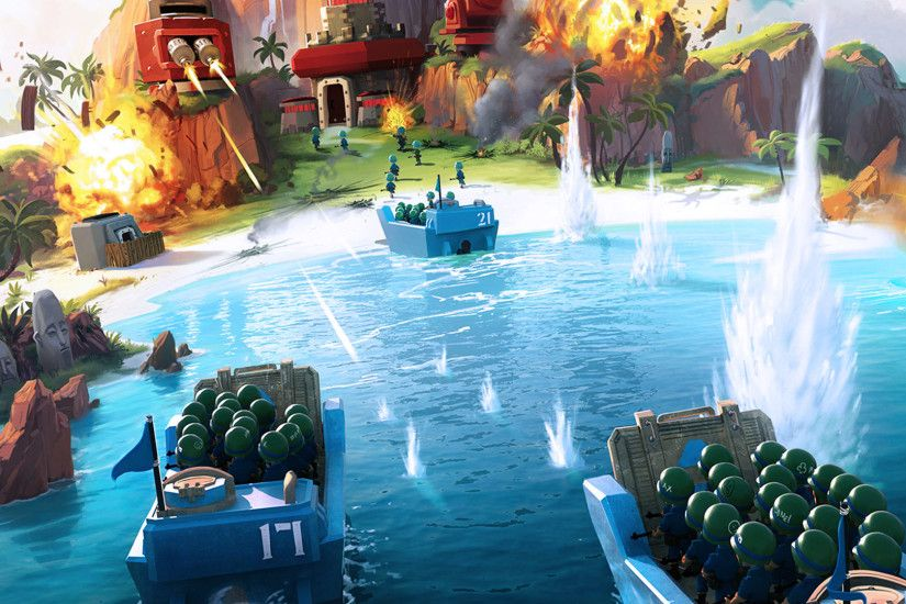 Boom Beach Wallpaper Game