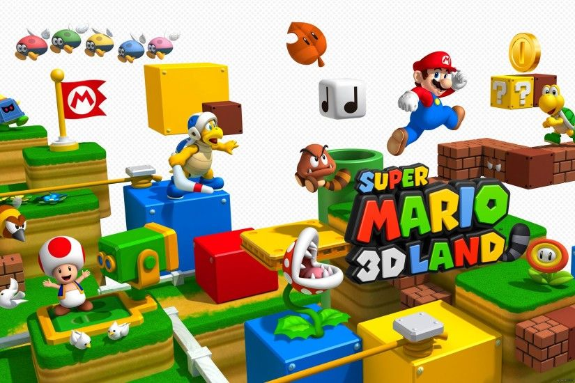HD Wallpaper | Background ID:191216. 2560x1600 Video Game Super Mario 3D  Land