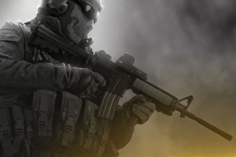 "Full HD HD Tablet 10"" Tablet 7"". Wallpaper Name : Soldier with M16 ..."