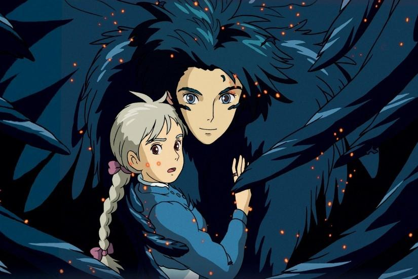 vertical howls moving castle wallpaper 1920x1080 phone