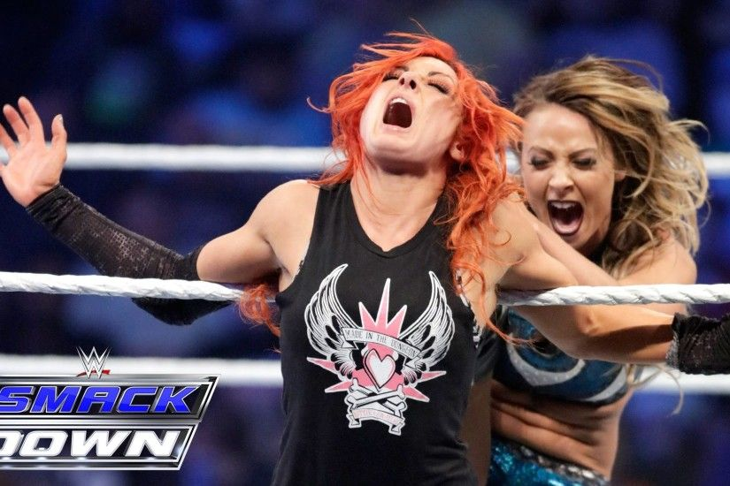 Becky Lynch & Natalya vs. Charlotte & Emma: SmackDown, May 5, 2016 - YouTube