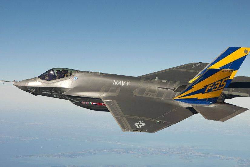 F 35 Lightning ii Fighter Jet Wallpaper ...