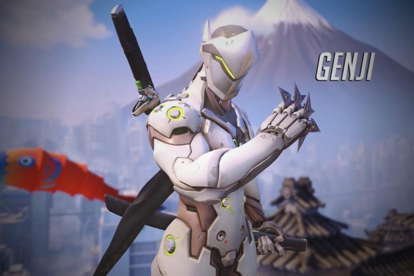 Overwatch Genji Wallpaper - 1920 x 1080 by Mac117 on DeviantArt