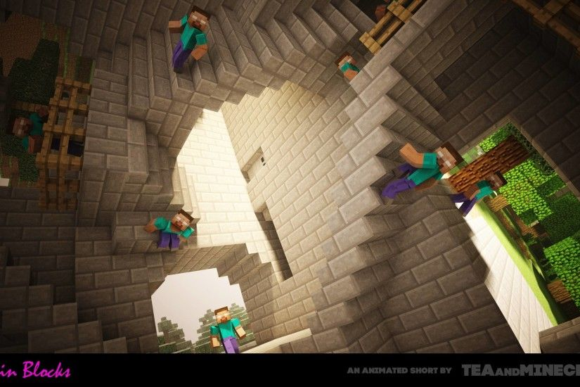 Minecraft Herobrine wallpapers hd resolution
