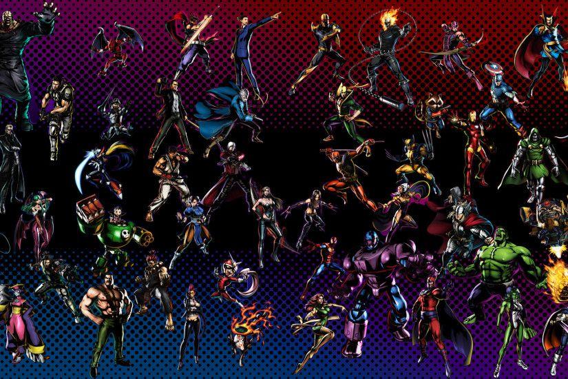 Marvel Vs Capcom Background Wallpapertag