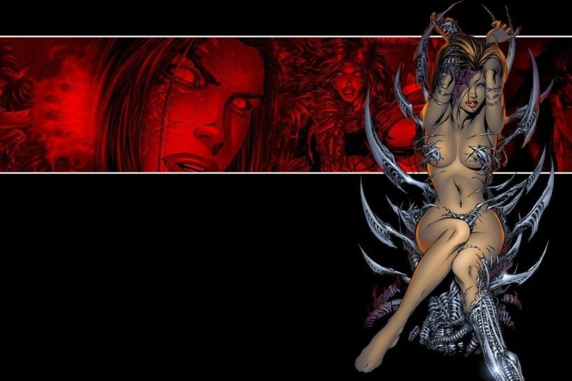 Witchblade Wallpaper 1920 x 1080 - WallpaperSafari