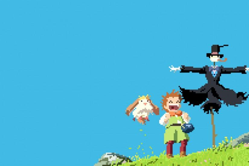 howls moving castle wallpaper 1920x1080 image
