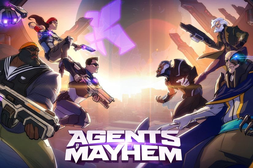 Video Game - Agents of Mayhem Wallpaper