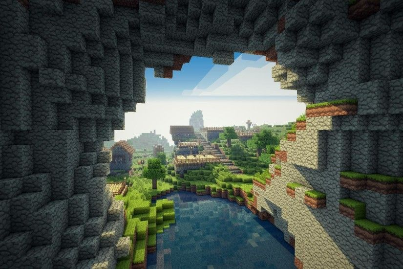 Minecraft HD Wallpaper - HD Wallpapers Backgrounds of Your Choice