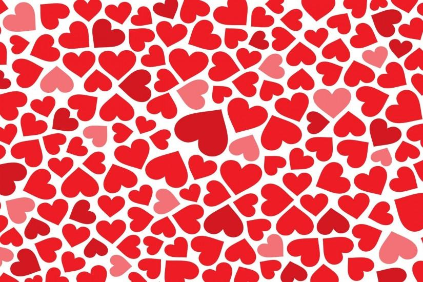 Images For > Little Red Hearts Wallpaper