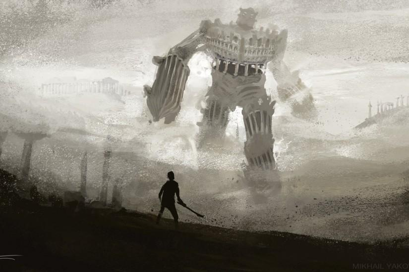 widescreen shadow of the colossus wallpaper 1920x1080