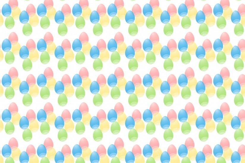 Pastel Easter Eggs Wallpaper