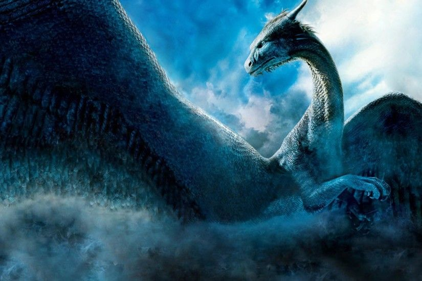 Wallpaper Dragon Saphira (1920 x 1080 HDTV 1080p). Desktop wallpapers .
