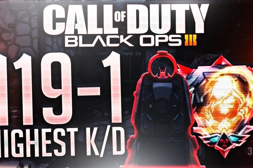 HIGHEST KD IN BLACK OPS 3!!! | 100+ KD Game in CoD Bo3 | Highest Kill/Death  Ratio - YouTube
