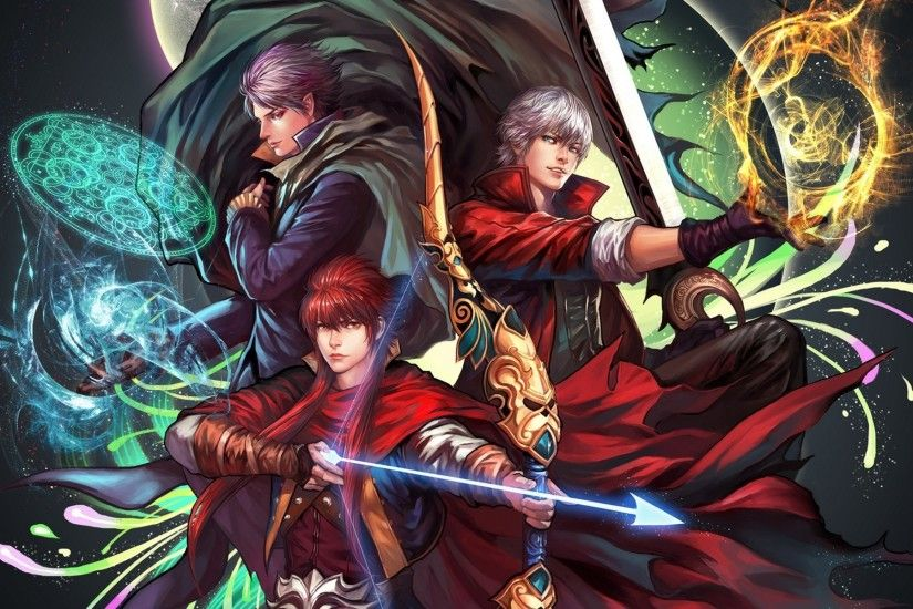 Photos Dante Devil May Cry Devil May Cry 3 Games 1920x1200